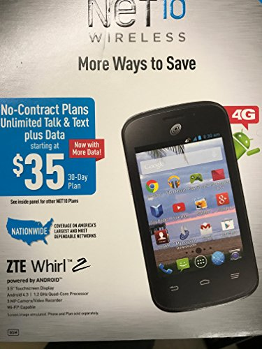 ZTE Whirl Android Cell Phone