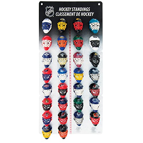 Franklin Sports NHL Micro Mask League Standings Tracker Nhl Team Logo Merchandise