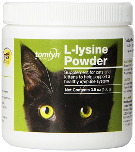 Tomlyn Immune Support L-Lysine Supplement Powder for Cats, 100g