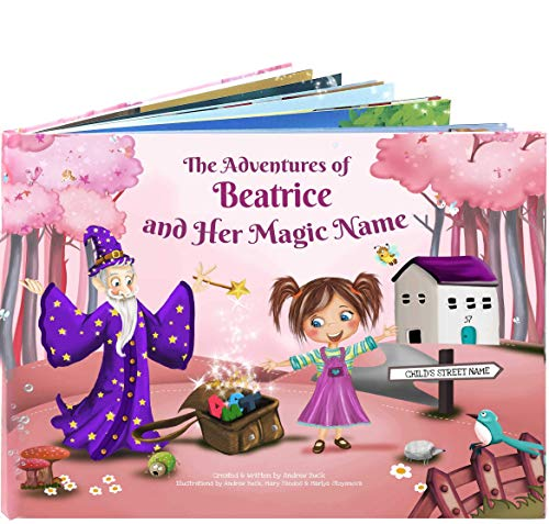 Personalized Story Picture Book for Children - A Unique Story Based on the Letters of a Child's Name