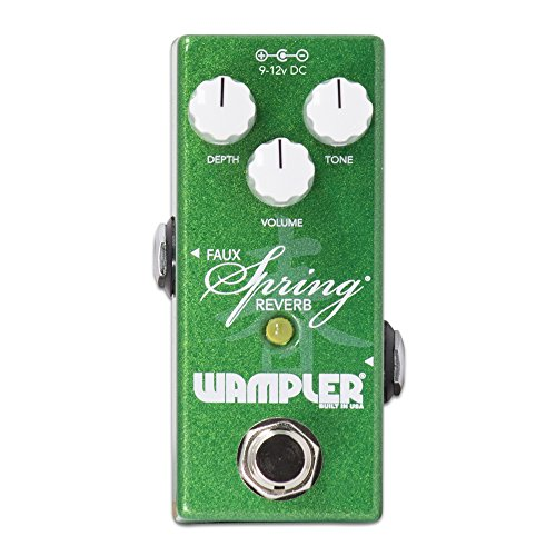 - Wampler Mini Faux Spring Reverb Guitar Effects Pedal