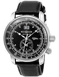 ZEPPELIN 100th anniversary Memorial Model LZ1 Quartz Men's Watch 7640-2 Black