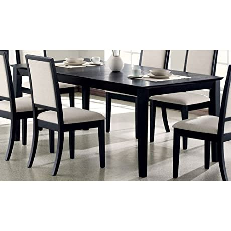 Coaster Home Furnishings 101561 Casual Dining Table Black