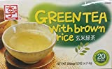 Cheap 1.5g Yissine Green Tea with Brown Rice, 20 Tea Bags (One Unit)
