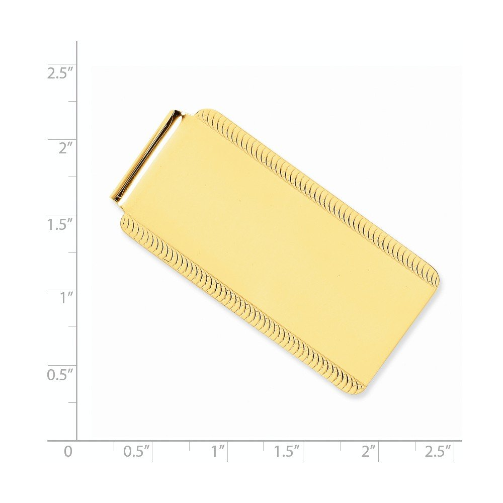 14k Yellow Gold Money Clip by CoutureJewelers (Image #2)