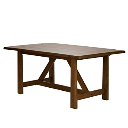 Amazon.com   Extendable Dining Table Dining Dinner Room Furniture Table  Wood Living Room Dinner U0026 Ebook By Easy2Find   Tables