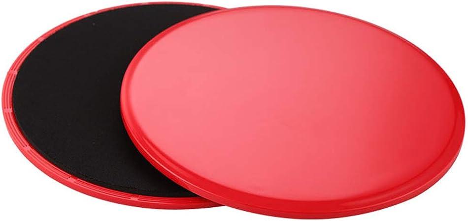 KKCD Gliding Discs Disques lat/éraux de Yoga pour Le Yoga en Salle de Sport ABS int/érieurs Fitness en int/érieur Tapis Glissant Tapis glissants Pilates