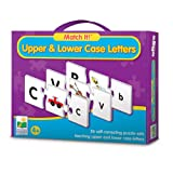 The Learning Journey Match It!-Upper and Lower Case Letters Puzzle