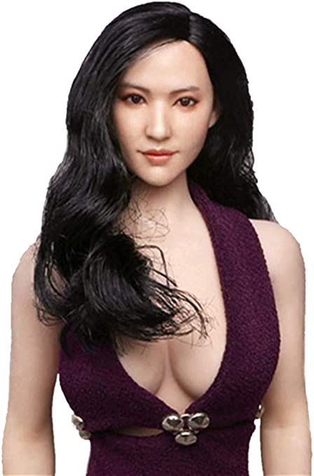 """1//6 Scale Woman Hair Wig 3.0 NEW Multi Colors For 12/"""" Female Head Sculpt 28"""