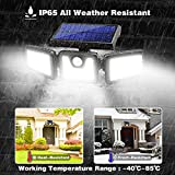 Solar Lights Outdoor, AmeriTop 128 LED 800LM