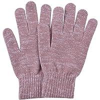 WDSKY Womens Gloves Winter Wool Magic Knit Fashion Glitter