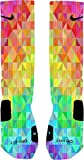 Prism Custom Nike Elite Socks (Medium 6-8)