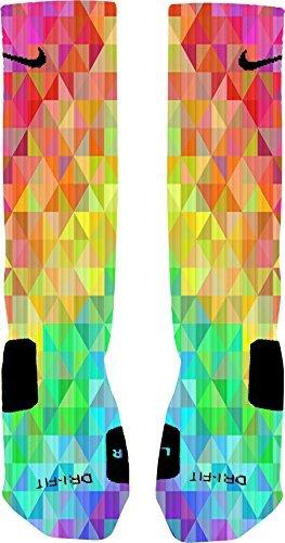 Price comparison product image Prism Custom Nike Elite Socks (Medium 6-8)