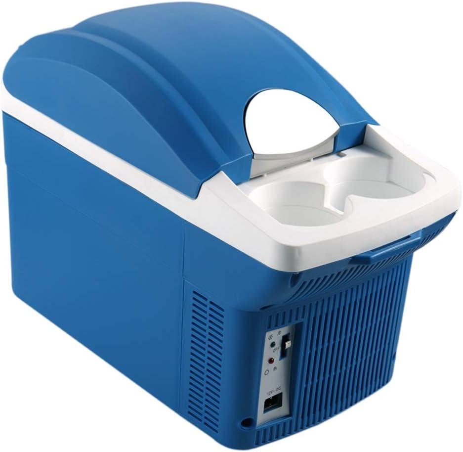 ETH 8L車用冷蔵庫ミニ小型冷蔵庫小型冷蔵庫12V車用冷蔵庫横型ポータブル 特殊