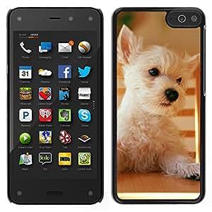 LECELL--Funda protectora / Cubierta / Piel For Amazon Fire Phone -- Terrier de mojón de Australia Norfolk perro del oeste --