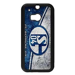 Hardshell Protectve Logo Futball-Club Gelsenkirchen-Schalke 04 Phone Case Cover for Htc One M8 FC Schalke 04 Stylish