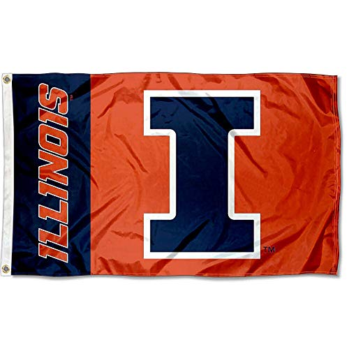 (Illinois Fighting Illini Large 3x5 College)
