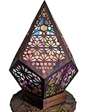 Crazyfly Vloerlamp, kunststof Bohemian Light,Bohemian Style Decor Gift voor Home Garden