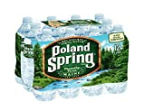 Poland Spring Non-Deposit Natural Spring Water, 16.9 Ounce (Pack of 12)