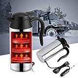 Travel Car Kettle 12V Heater Bottle Pot for Camping Boat Lorry Truck Cigarette