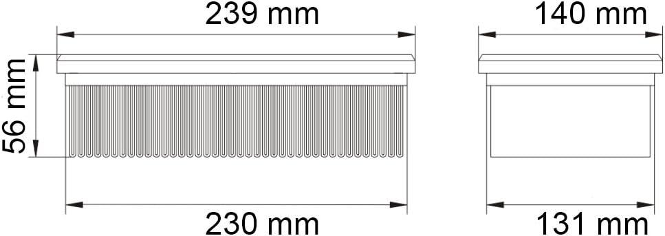 2 X FILTRO PER FLEX VCE 35//VCE 45//S 36//S 47 filtro a pieghe aspirapolvere