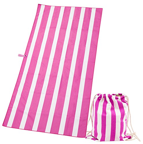 Exerz Microfibre Towel & Drawstring bag - 63 x 31.5