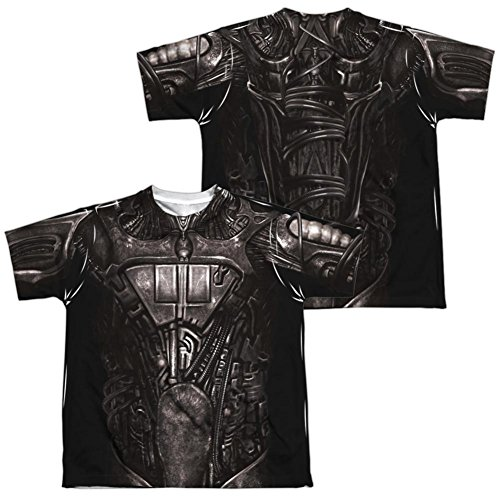 [Youth: Star Trek- Borg Costume Tee (Front/Back) Kids T-Shirt Size YM] (Baby Spock Costume)
