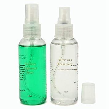 Spray de eliminación de vello de cuerpo liso natural, 2 ...