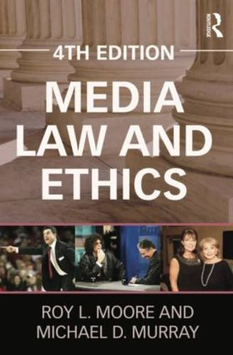 Media Law and Ethics (Routledge Communication Series) by Brand: Routledge