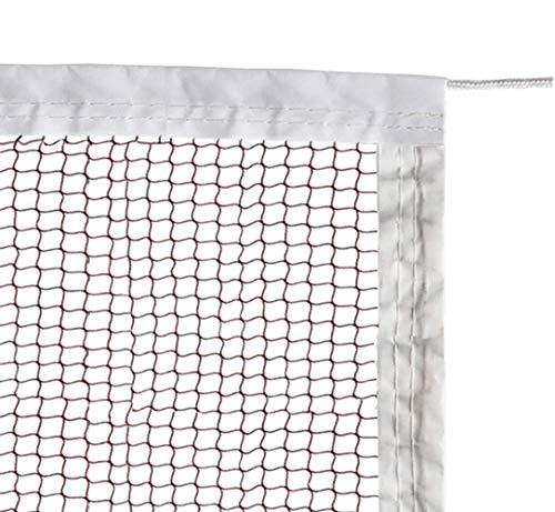 ATINUS Badminton Tournament Net with Rope for Indoor and Outdoor Sports Garden Schoolyard Backyard (20 FT x 2.5 FT)