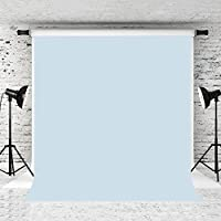Kate 5x7ft Baby Blue Photo Backdrop Pure Solid Color Background Cotton Collapsible Backdrops for Photographer Photo Studio Prop