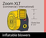Bounce House Blower - 1.0 HP XLT Zoom Blower for Inflatables