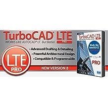 TurboCAD LTE Pro v8 Professional 2.5D CAD – That Works Like AutoCAD LT