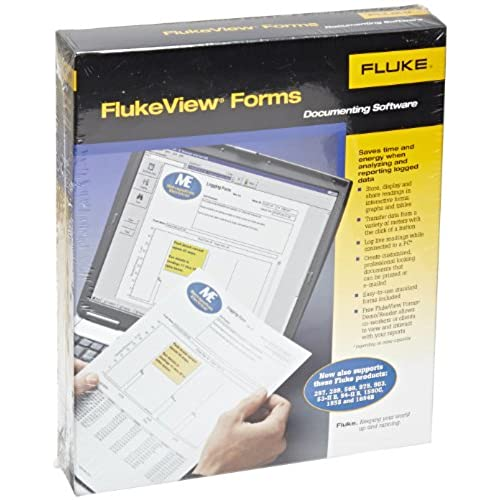 Top Fluke FVF-BASIC FlukeView Forms Basic Software with Cable for 280 Series, 180 Series, 789, 1653B and 1550B