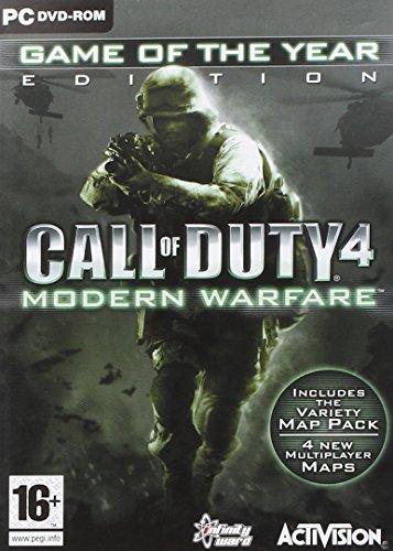 CALL OF DUTY 4 MODERN WARFARE GOTY ED.