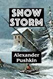 img - for Snow Storm by Alexander Pushkin (Super Large Print Romance) book / textbook / text book