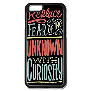 Alice7 Replace Fear Unknown Case For Iphone 6,Funny Iphone 6 Case