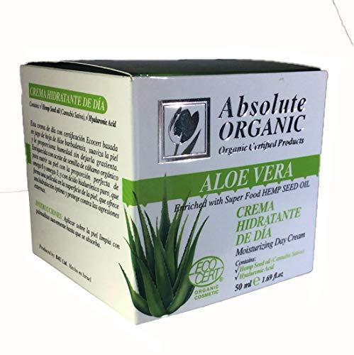 Absolute Organic Aloe Vera Moisturizing Day Cream 1.69 oz