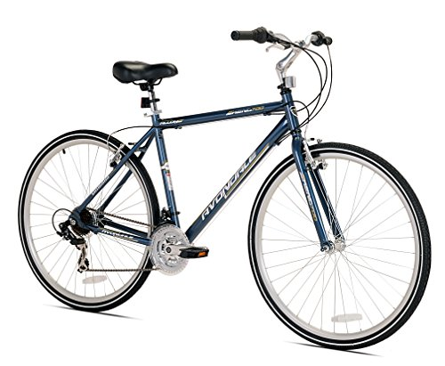 Kent Men's Avondale Hybrid Bicycle with Sure Stop Brakes, 19'