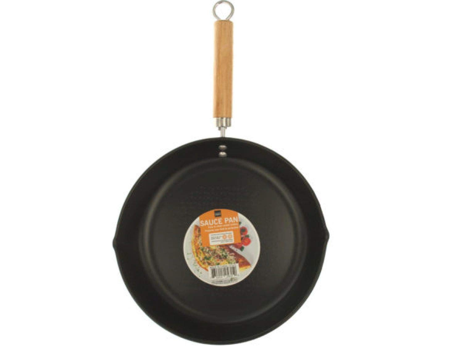 StarSun Depot All Purpose Frying Pan with Wood Handle - Set of 8