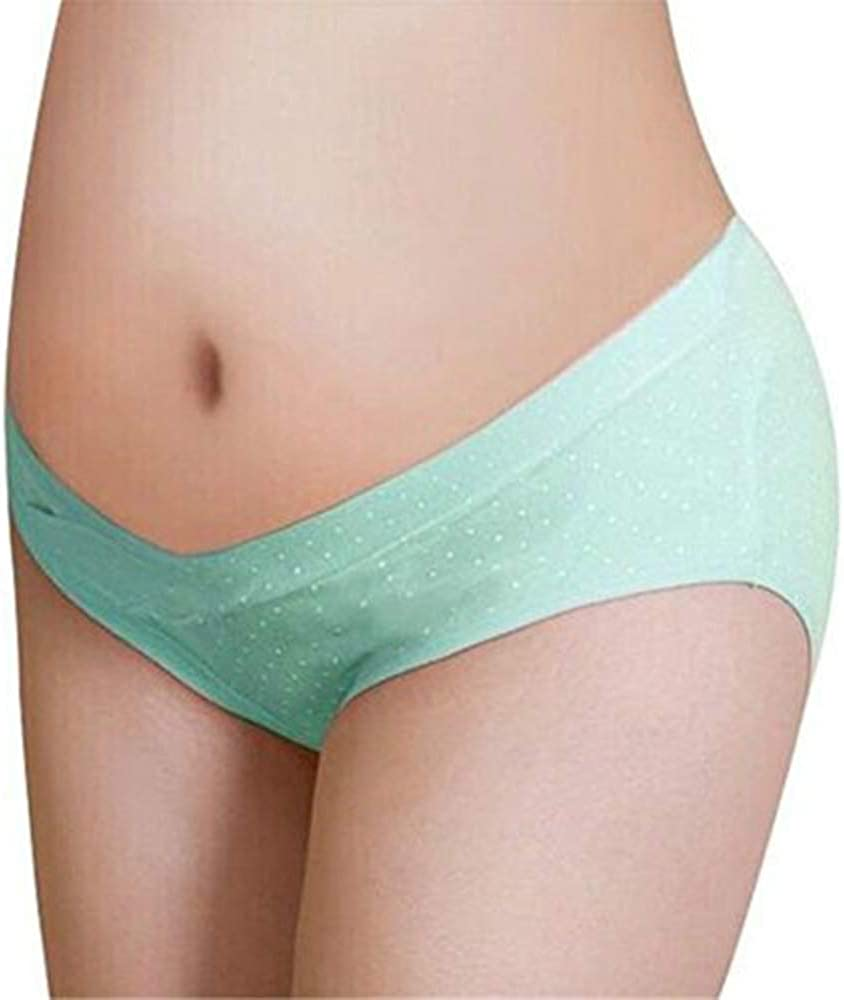 Multi Pack GIFTPOCKET Womens Under Bump Maternity Panties Healthy Underwear Assorted Color