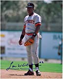 Lou Whitaker Signed Picture - 8x10 #4 - Autographed MLB Photos