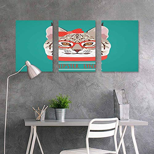 - BDDLS Wall Painting Prints Sticker,Fashion Picture Design (10) On Canvas Abstract Artwork 3 Panels,24x35inchx3pcs