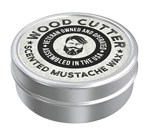 WoodCutter Scented Mustache Wax, 1 oz. (WoodCutter)