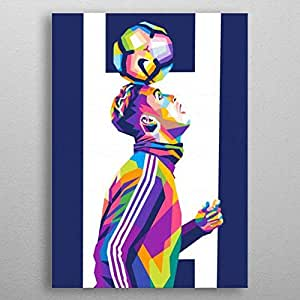 Tableau attached to wood - Cristiano Ronaldo