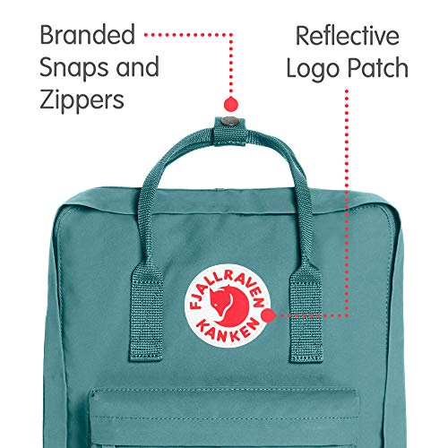 Fjallraven - Kanken Classic Pack, Heritage and Responsibility Since 1960, One Size,Frost Green by Fjallraven (Image #2)
