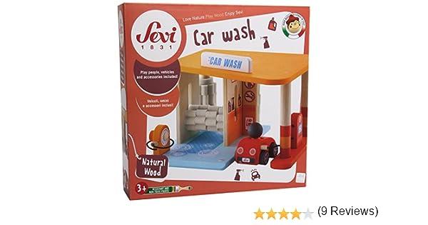 Sevi - Playset autolavado Parking (Trudi 82812): Amazon.es: Juguetes y juegos