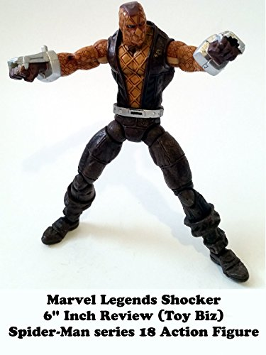 18 Inch Spider Man 2 Toy : Amazon review marvel legends shocker quot inch