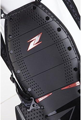 XS Jaune Fluo Zandon/à Fiches EVC X7 Protection Dorsale