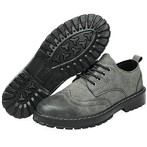 Uomo Color Jiuyue Jiuyue Tonda Stivali Dimensione Grigio Grigio 40 all'Usura Uomo Resistenti Scarpe Stivaletti EU Army da 2018 Martin Scarpe alla Stile Green shoes Moda Stivali Casual Punta da qrRrX0nw